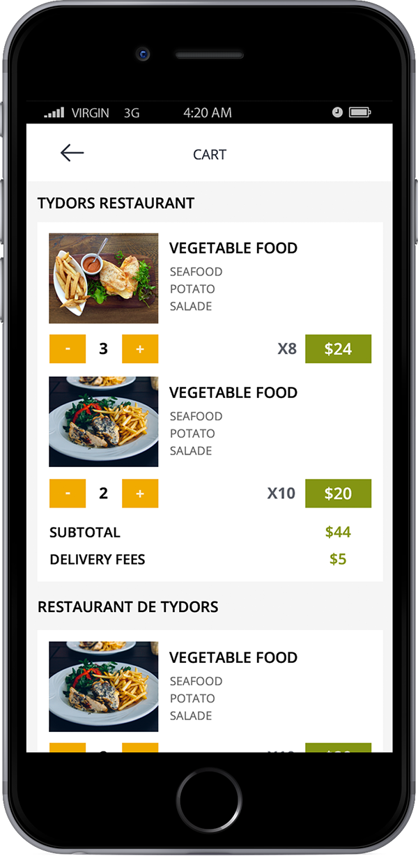 POS & Tablet Menu