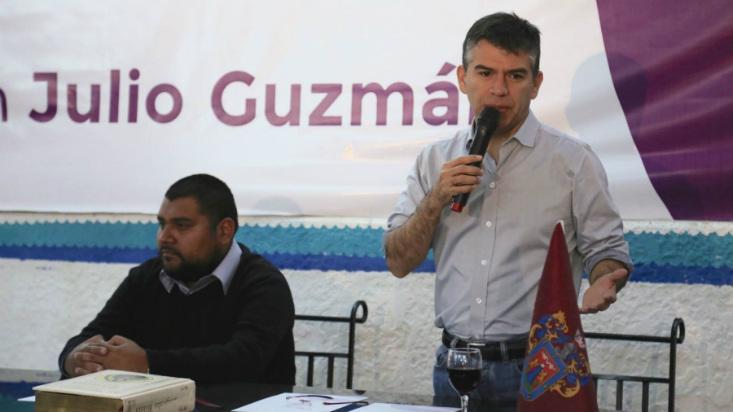 Julio Guzmán presentó sus propuestas de gobierno