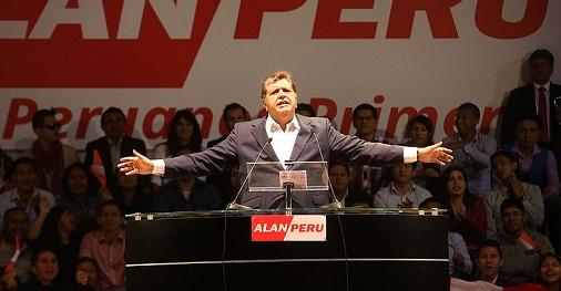 La carrera política de Alan García