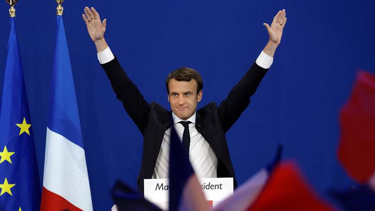 Francia: ¿por qué el euro y la bolsa cayeron tras triunfo de Macron?