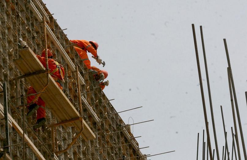 Construcción: mejor fondeo