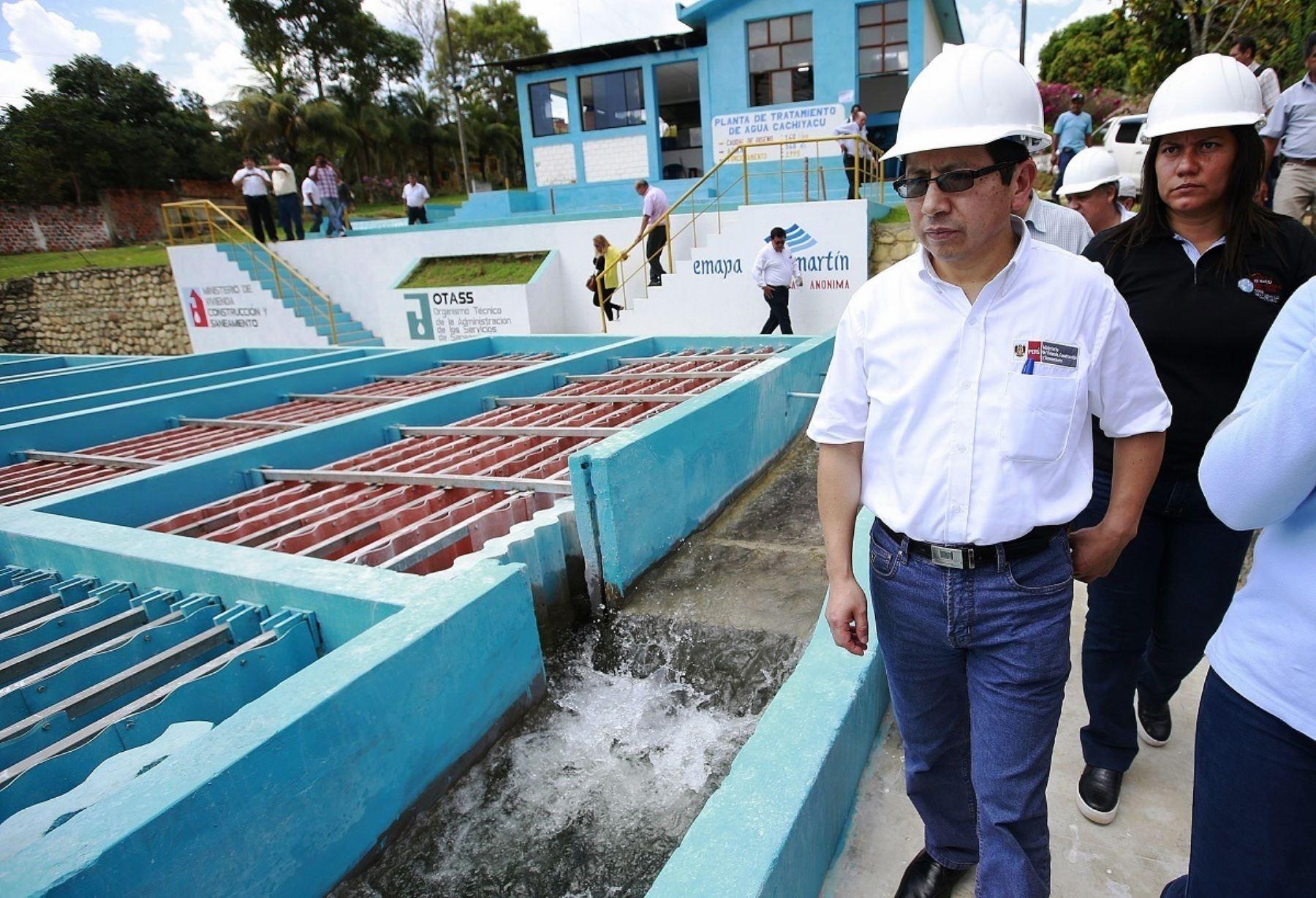 Ejecutivo busca invertir S/.7,800 millones en tratamiento de aguas residuales