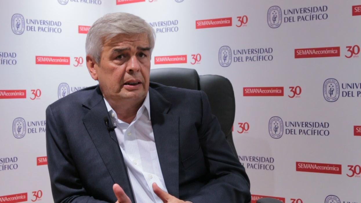 """Julio Luque: """"Si no logramos voltear la informalidad, las inversiones no van a despegar"""""""