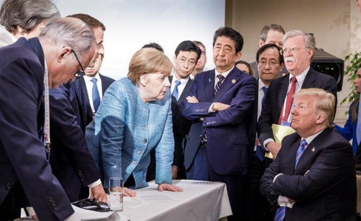 La cumbre del G7 y el descontrol deDonald Trump