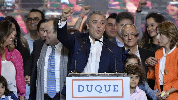 Iván Duque, el nuevo presidente de Colombia, enfrenta desafíos de larga data