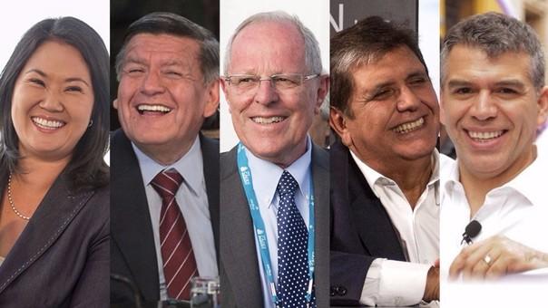 Datum: Julio Guzmán se posiciona en el segundo lugar con 16%, mientras que César Acuña cae a 7%