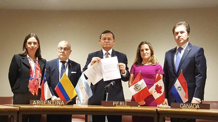 El Perú y otros cinco países americanos piden que la Corte Penal Internacional investigue a Venezuela