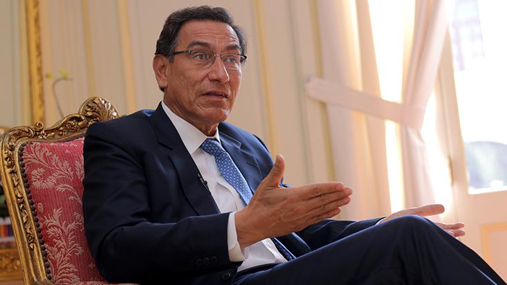 Martín Vizcarra afirmó que declararía disuelto el Congreso si es que se niega la cuestión de confianza