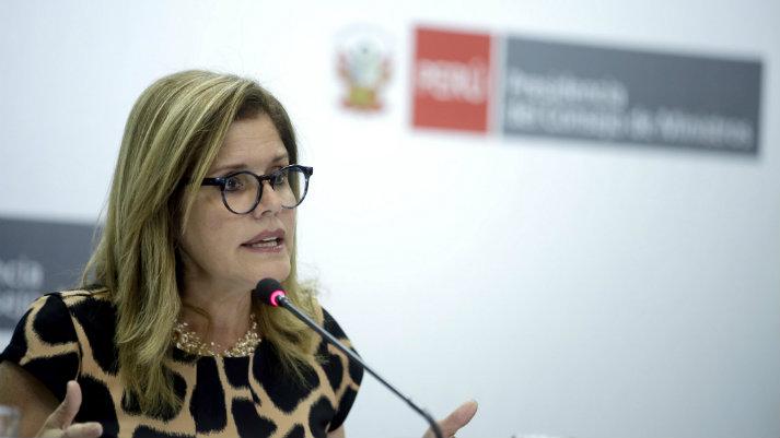 Mercedes Aráoz renunció a su cargo de vicepresidenta y a su designación interina como presidenta
