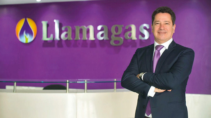 """Llamagas: """"Buscamos una participación de 20% del mercado de GLP a granel """""""