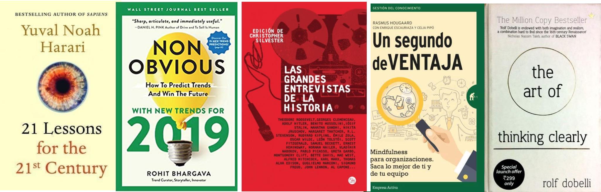 Los cinco mejores libros para el fin de semana largo