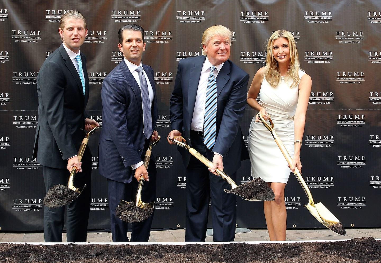 Donald Trump y la sucesión en su empresa familiar