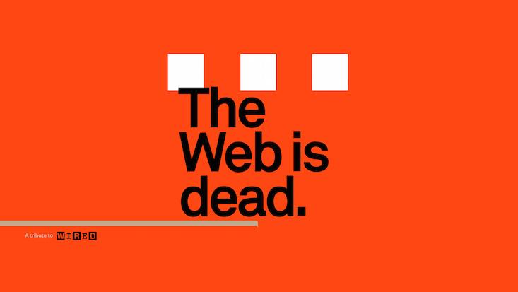 ¿La web ha muerto?