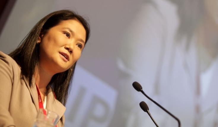 Keiko Fujimori y las encuestas: la tranquilidad del primer lugar