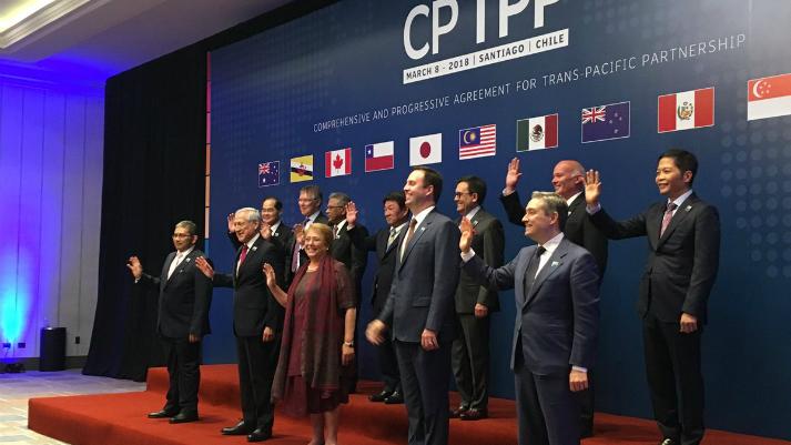 Nuevo TPP: el Perú y diez países más firmaron el acuerdo comercial en Chile