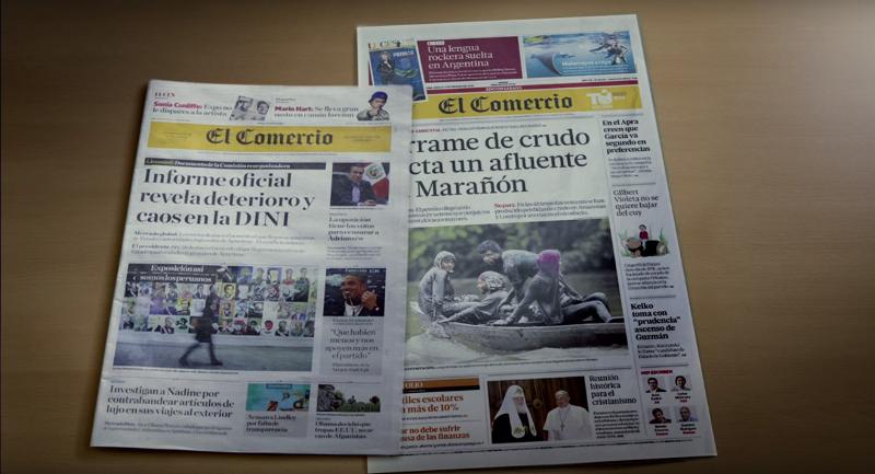 El Comercio: la decisión detrás de cambiar el tamaño del diario