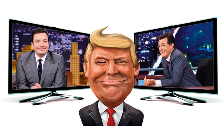 Late night talk shows en la era Trump