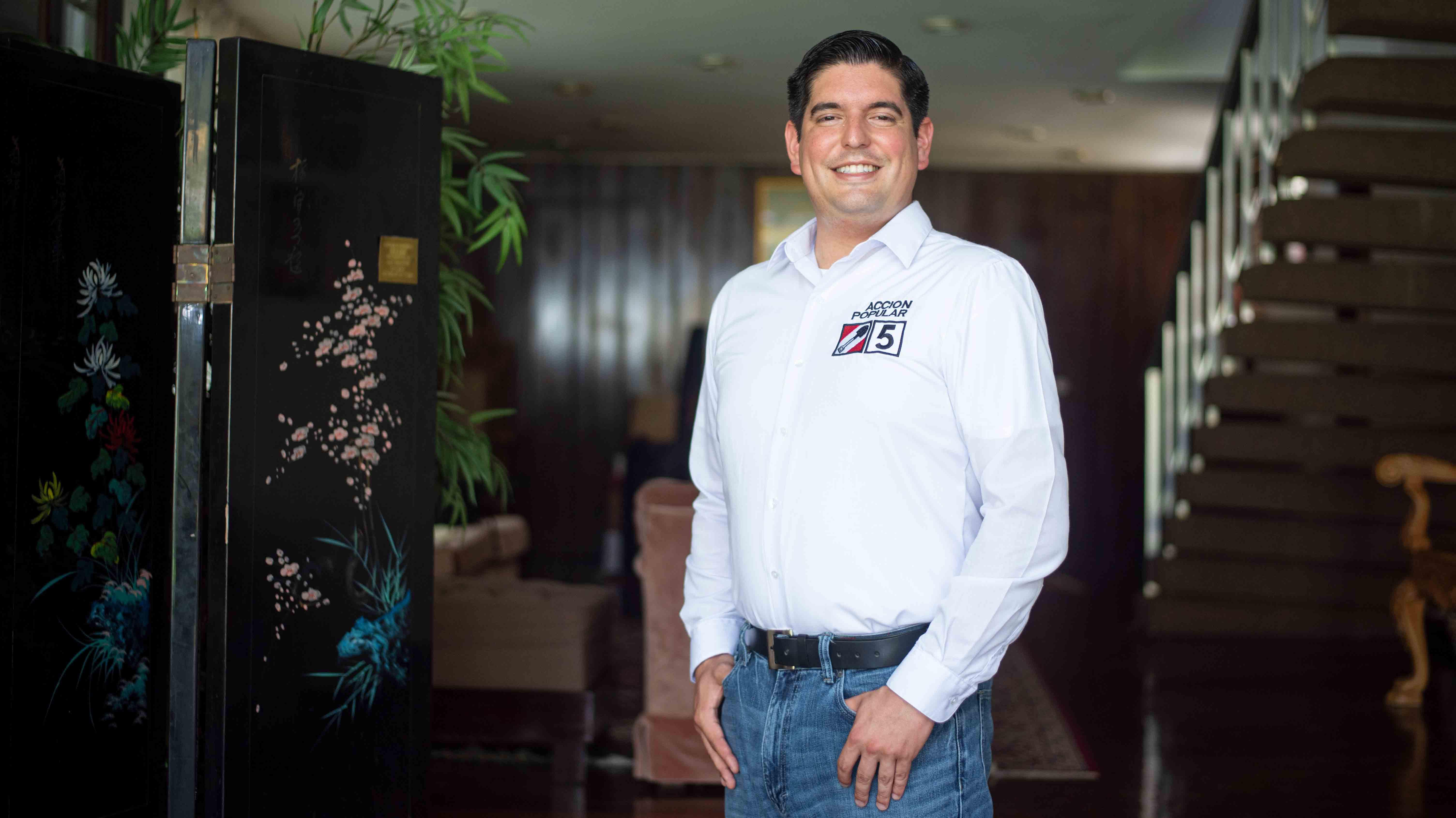 """Luis Roel, de Acción Popular: """"Hay que darle tranquilidad a los inversionistas de que el modelo económico no se va a cambiar"""""""