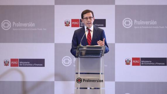 Proinversión redujo a US$1,094 millones su estimado de adjudicación para el 2020