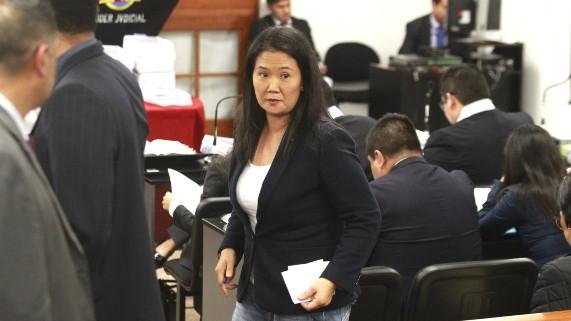 Keiko Fujimori: Poder Judicial dictó prisión preventiva por 15 meses en su contra