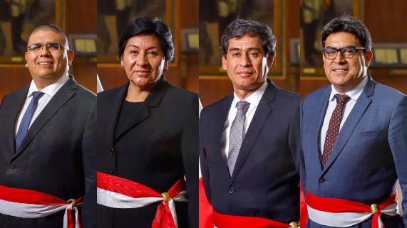 Martín Vizcarra nombró a cuatro nuevos ministros en Minedu, Minem, MTC y Minjus