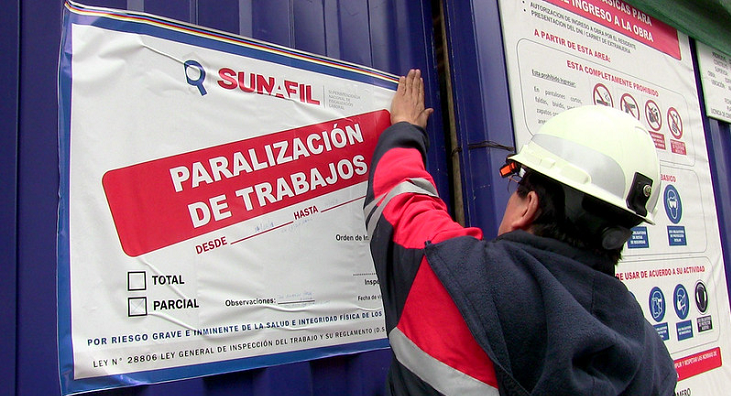 Seguridad en el trabajo: ¿cómo actuar frente a una Sunafil más severa?