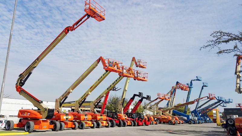 Foco en Alo Group Perú, empresa proveedora de maquinaria para trabajos de altura