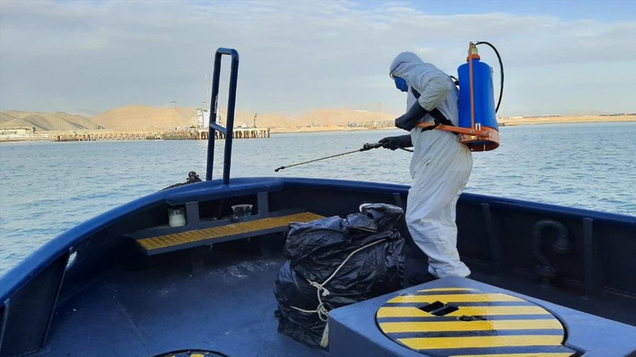 Protocolo sanitario para pesca: capturas a menor ritmo