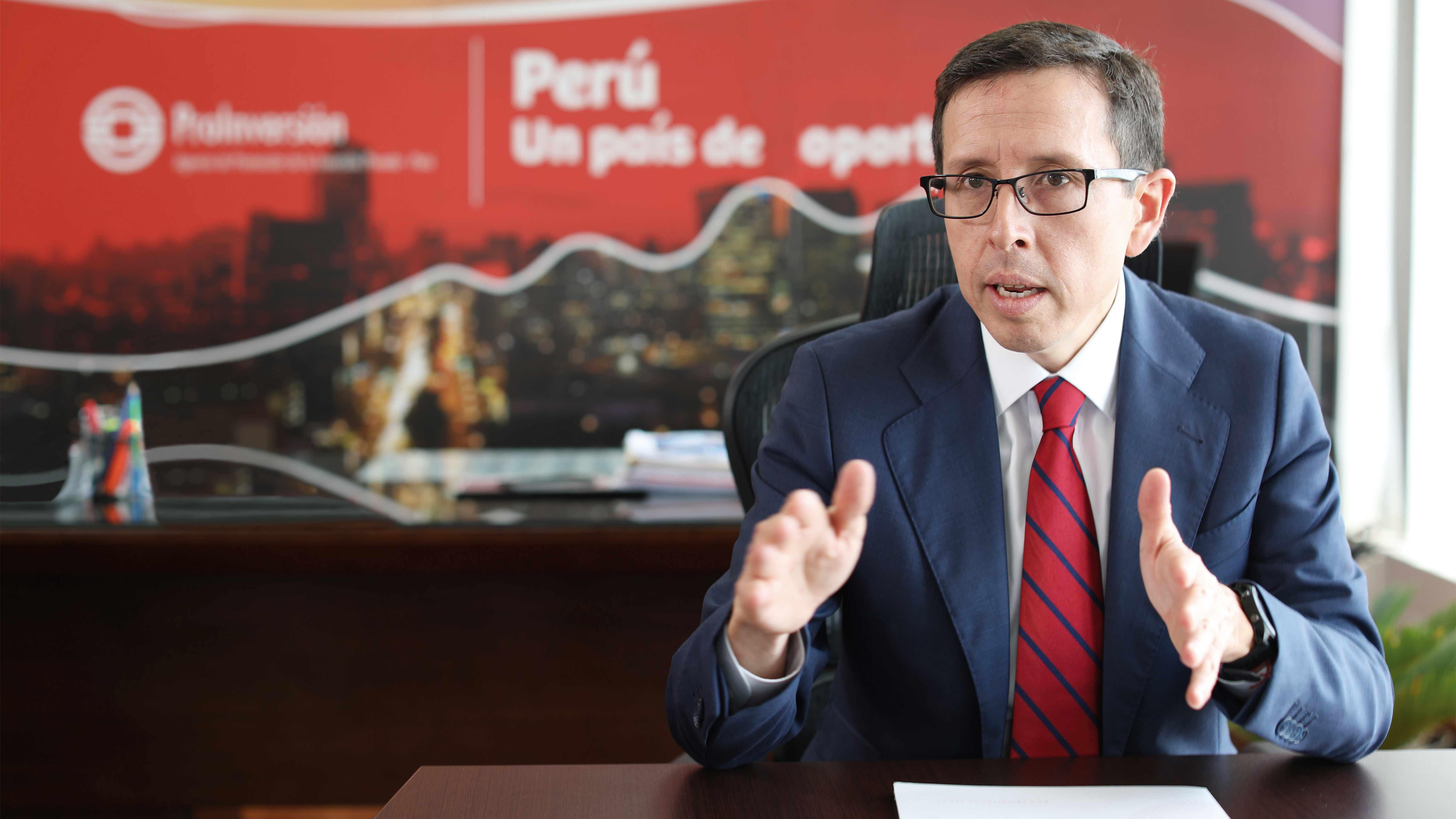 """Rafael Ugaz, director ejecutivo de Proinversión: """"Tenemos que recuperar nuestro prestigio"""""""