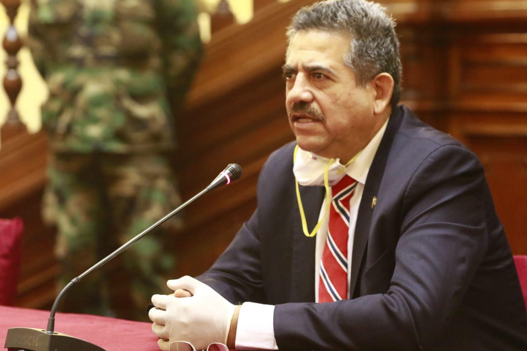 Manuel Merino de Lama, el más influyente del Congreso de la República