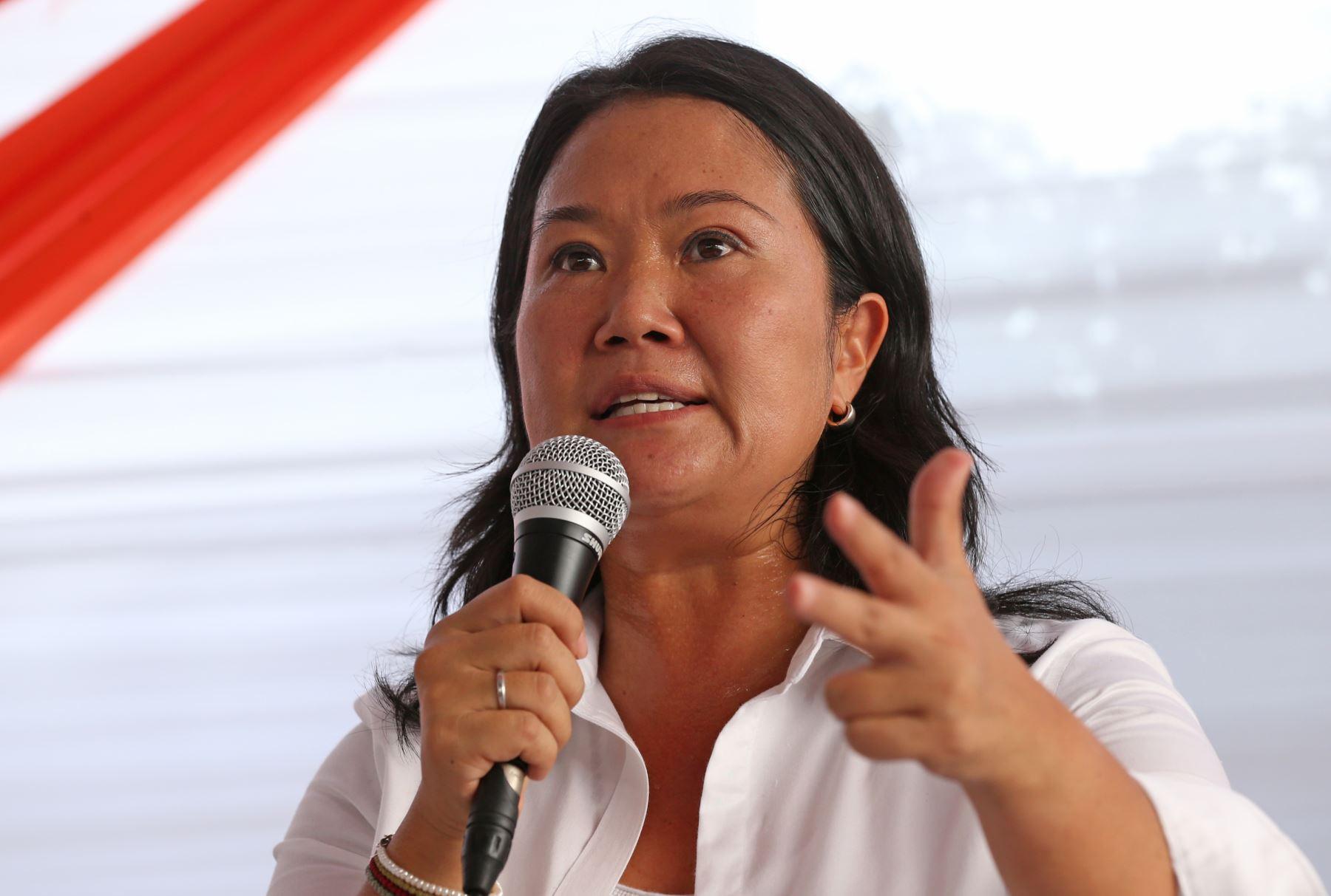 Keiko Fujimori encabeza por segundo año consecutivo la lista de los que deberían dejar la política