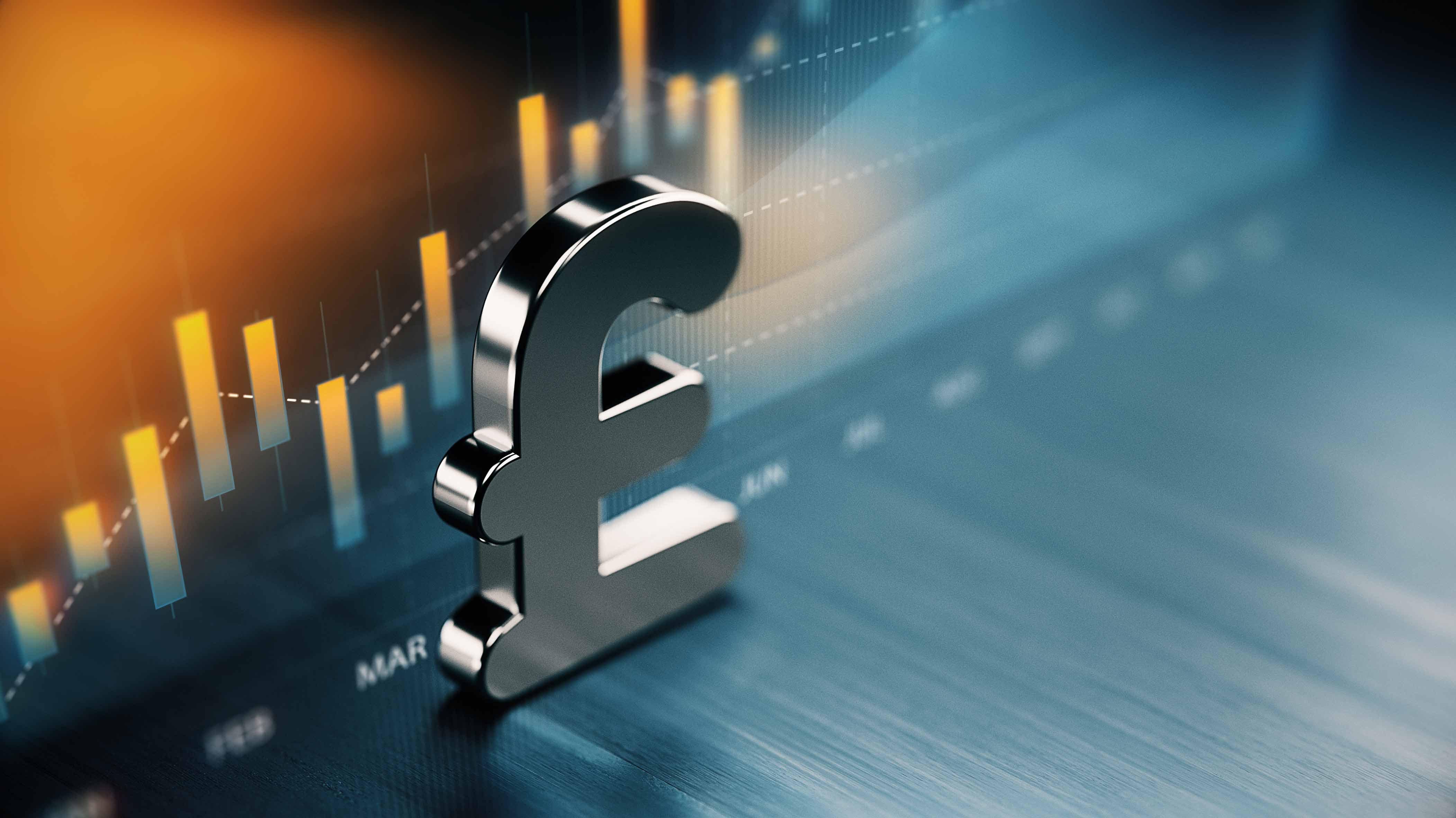 La libra esterlina se depreciará frente al dólar hacia fin de año