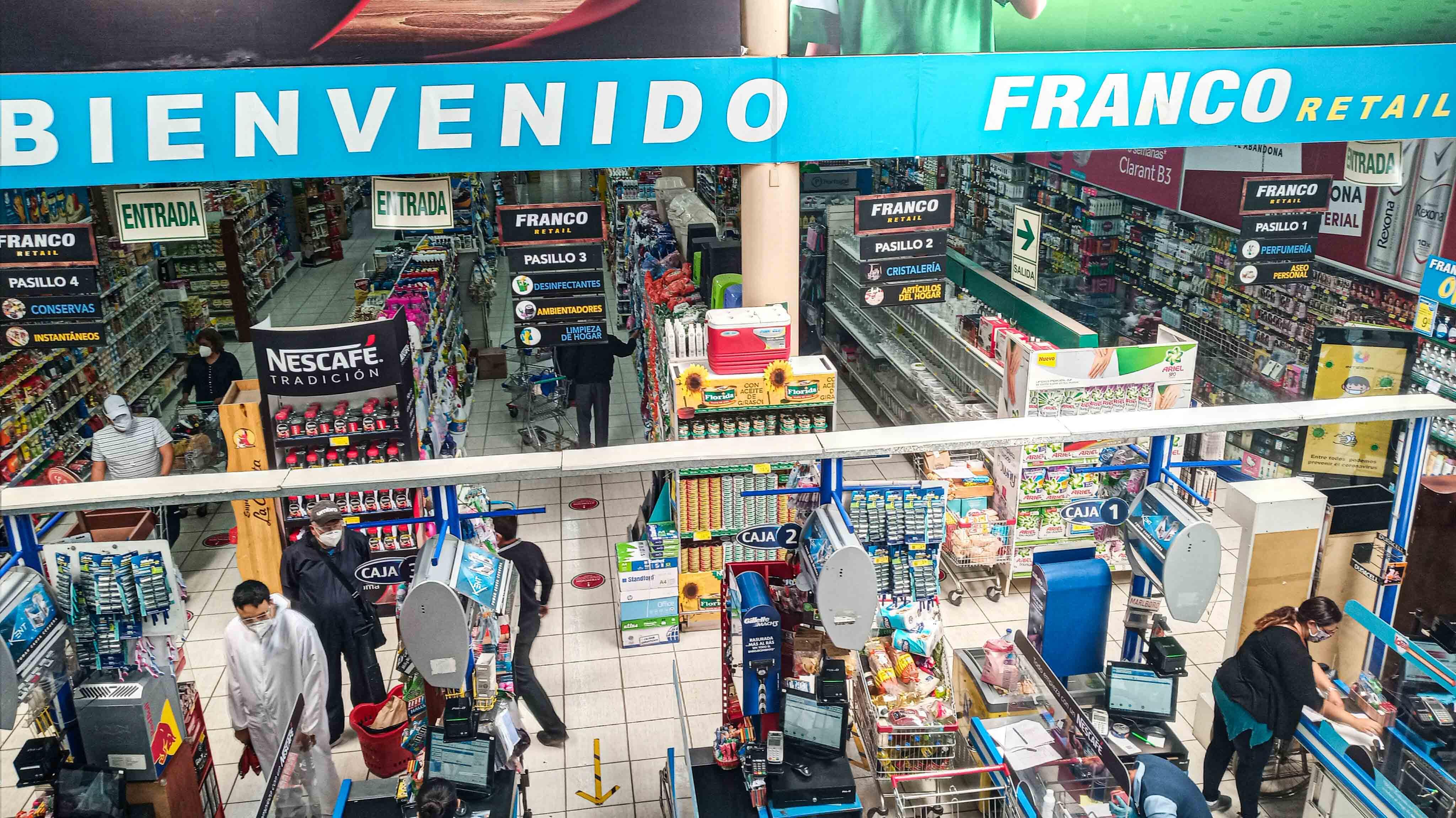 Foco en Franco Retail, la cadena de supermercados arequipeña que doblará su apuesta por Lima