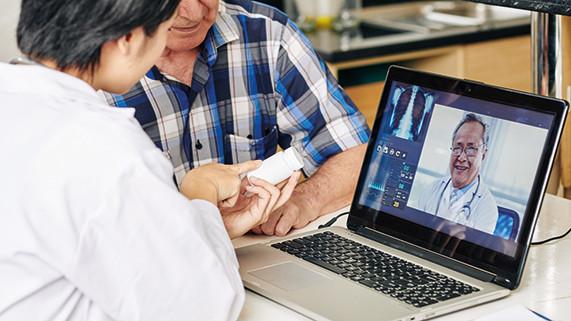 <p>Servicios de telemedicina seguirán creciendo en 2021, después del Covid-19</p>