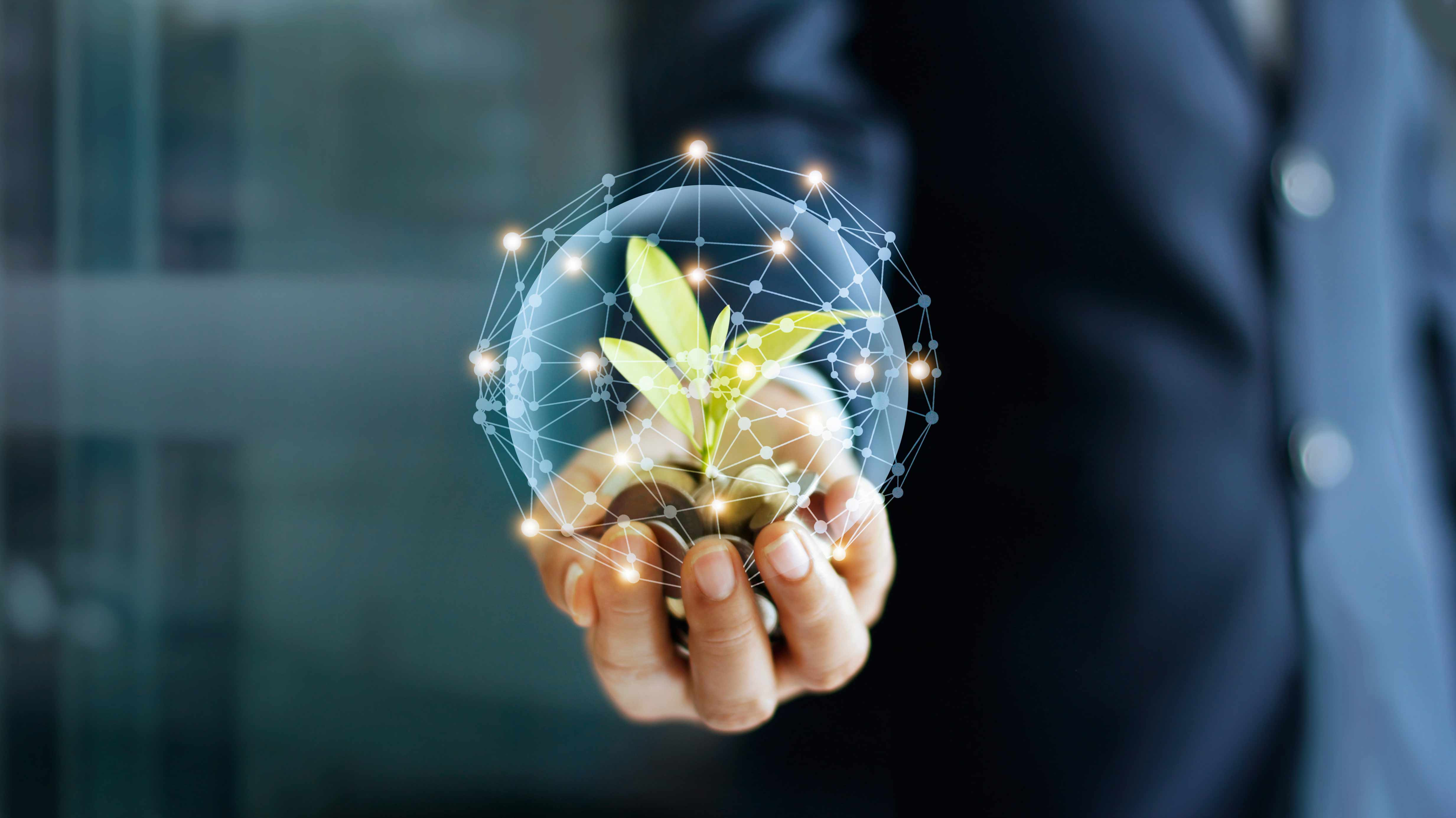 Blockchain ambiental: una ruta hacia inversiones verdes trazables