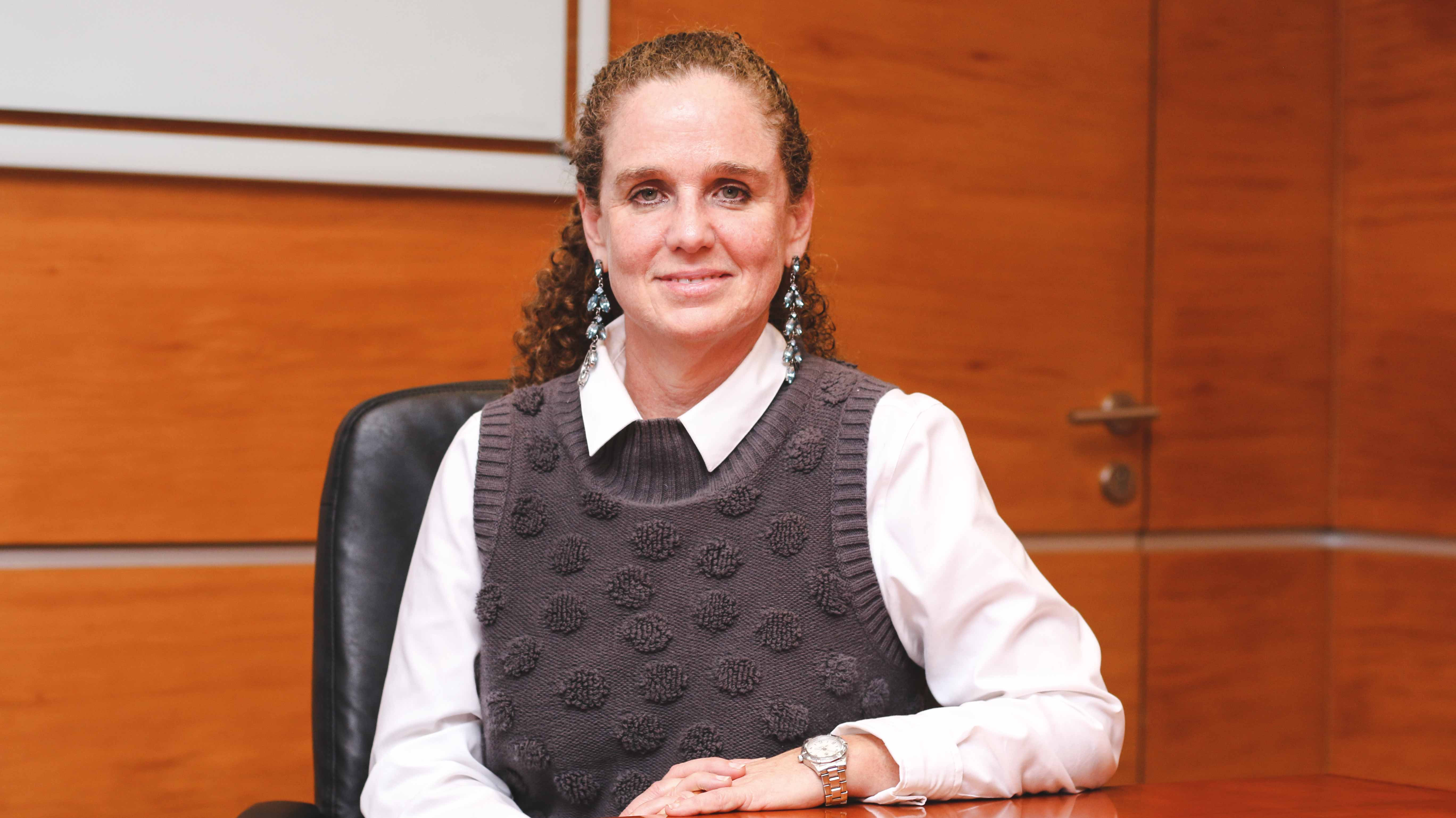 """Claudia Cooper: """"El objetivo [de la BVL] es empezar a competir de una manera mucho más efectiva con el sistema financiero"""""""