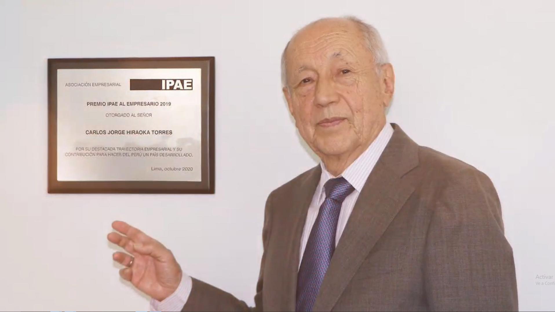 CADE Ejecutivos: Carlos Hiraoka Torres, minera Antamina y Fundación BBVA son los ganadores del Premio IPAE