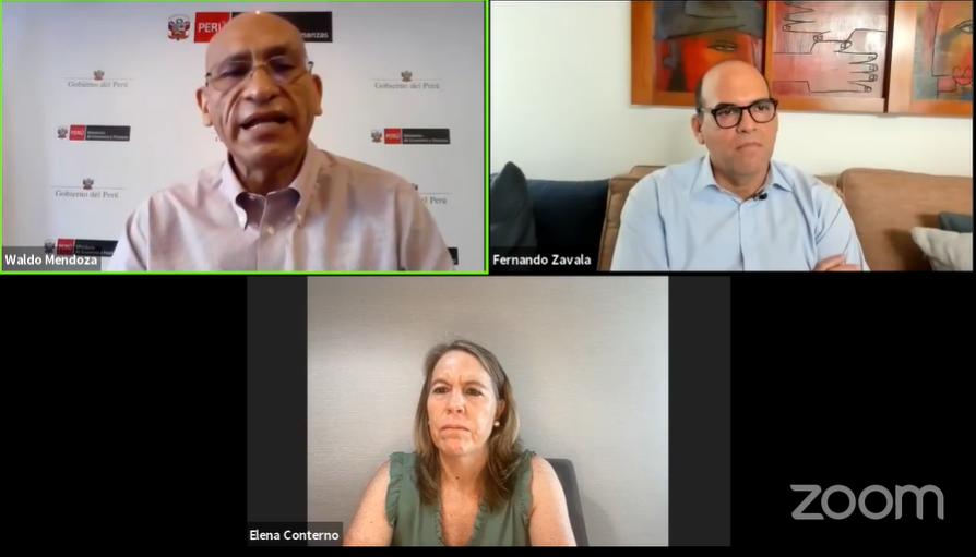 """Waldo Mendoza en #CADEX: """"la vacuna es el elemento más importante para la recuperación macroeconómica"""