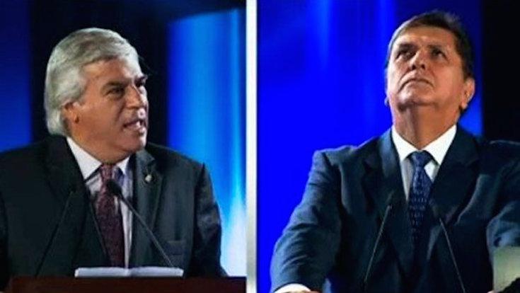 Fernando Olivera aprovecha debate para recordar denuncias contra Alan García