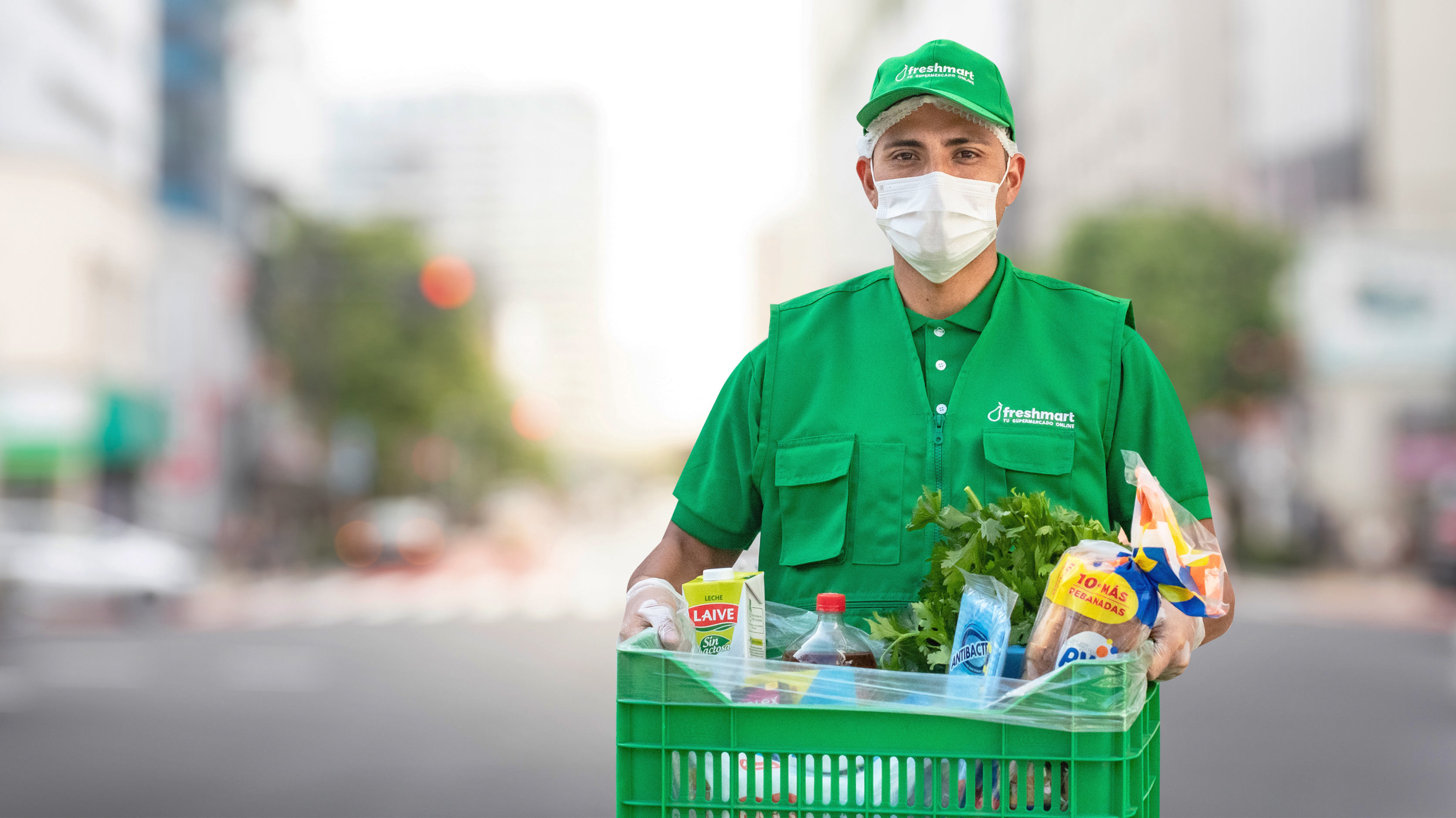 """Foco en Freshmart.pe, supermercado digital que tuvo un """"crecimiento explosivo"""" en pandemia"""