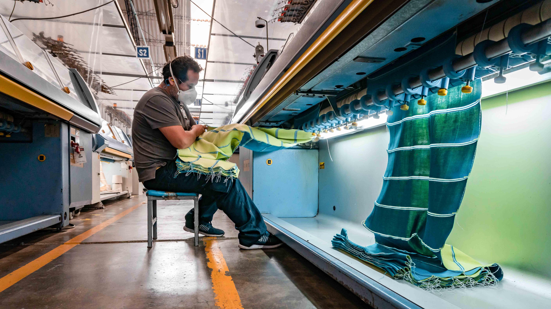 <p>Foco en Textil del Valle, empresa peruana que buscará internacionalizarse</p>