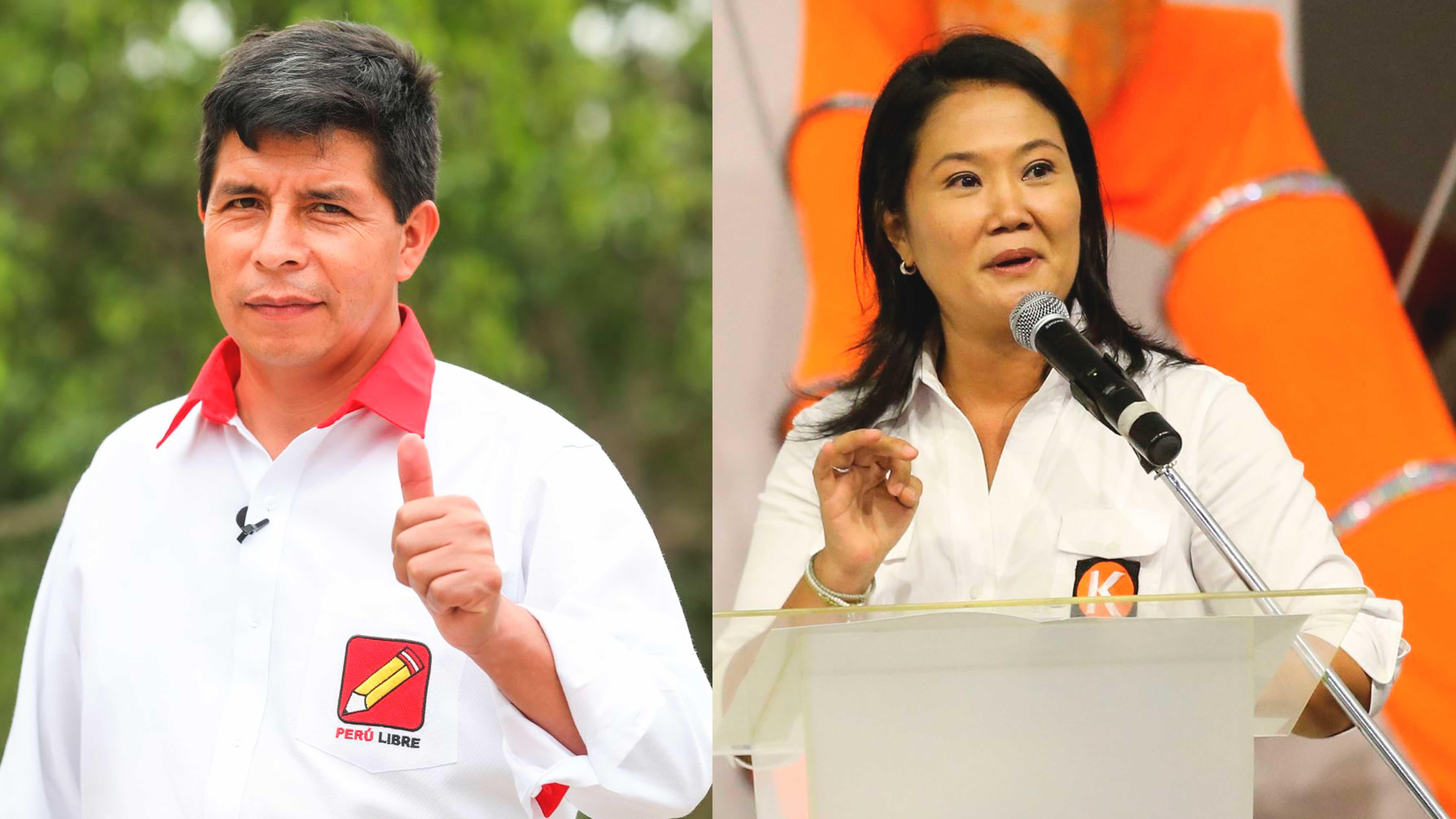 <p>Elecciones 2021: Pedro Castillo disputará la segunda vuelta contra Keiko Fujimori</p>