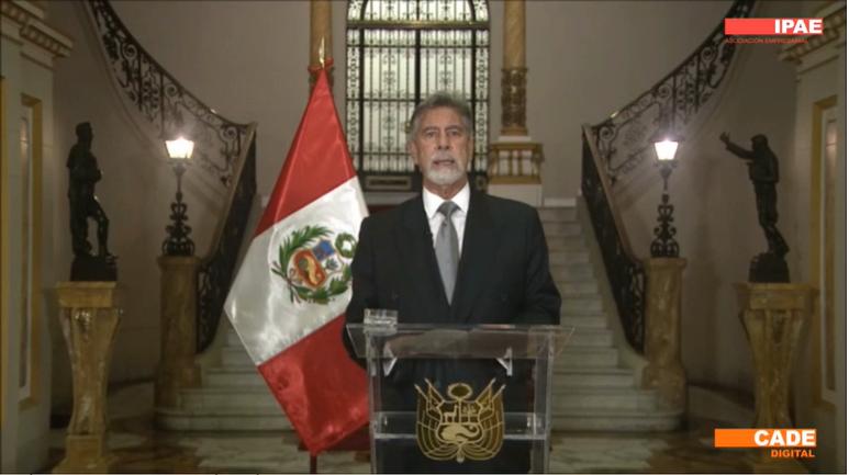 """Francisco Sagasti: """"trabajaremos de manera articulada para que la tecnología digital se convierta en un detonante para el crecimiento sostenido de todas las regiones del Perú"""""""