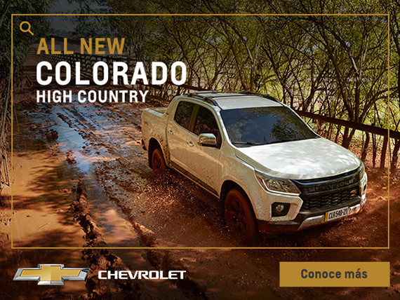 All New Chevrolet Colorado High Country: ya llegó la versión más vendida de la Colorado en Latinoamérica