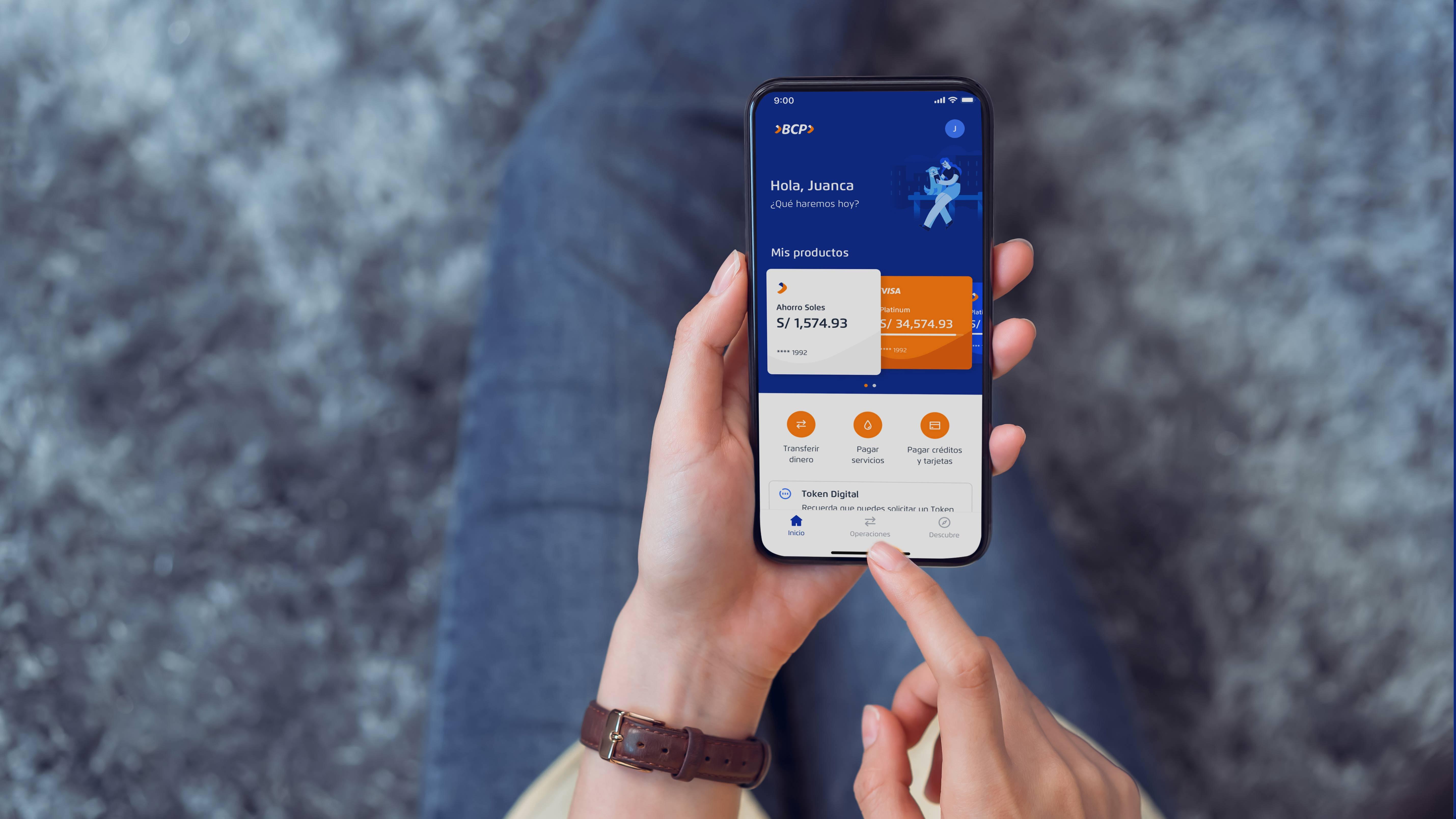 """BCP sobre su nueva app móvil: """"Vamos a sumar 40 servicios y productos en el transcurso de un año"""""""