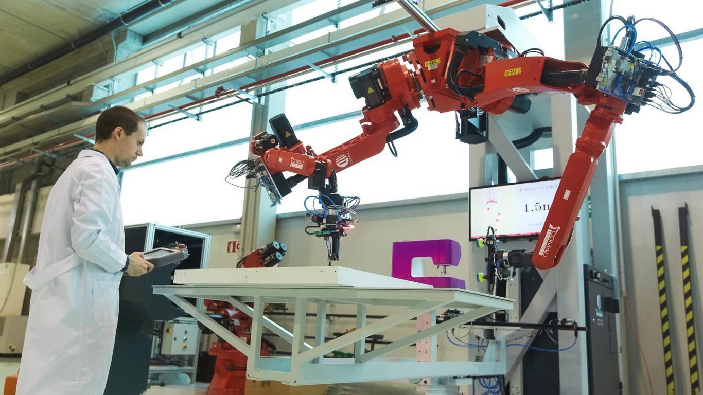 Robots sustituyen a los humanos ante la escasez de mano de obra