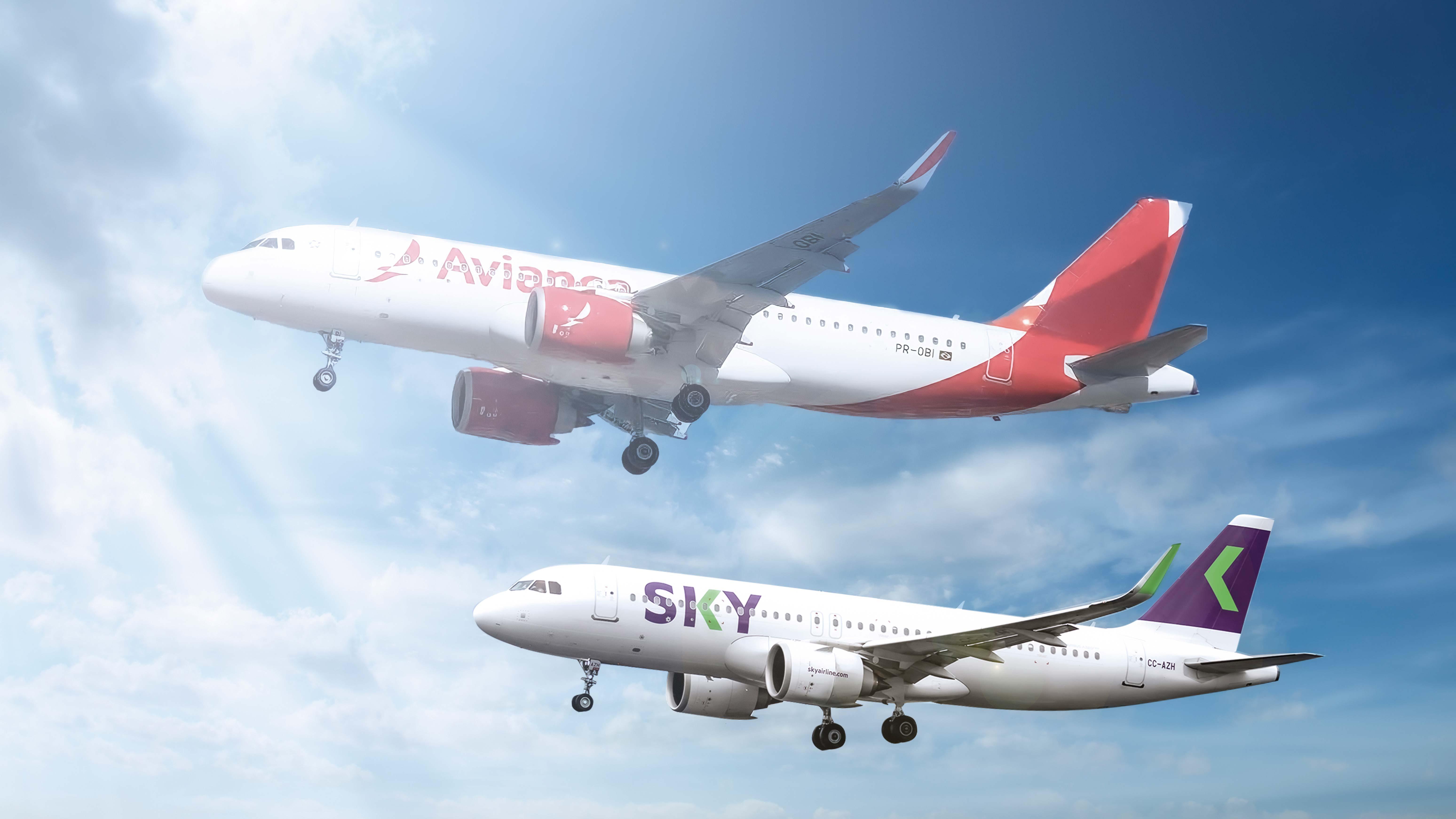<p>Avianca volvería al mercado peruano de la mano de Sky Airline</p>