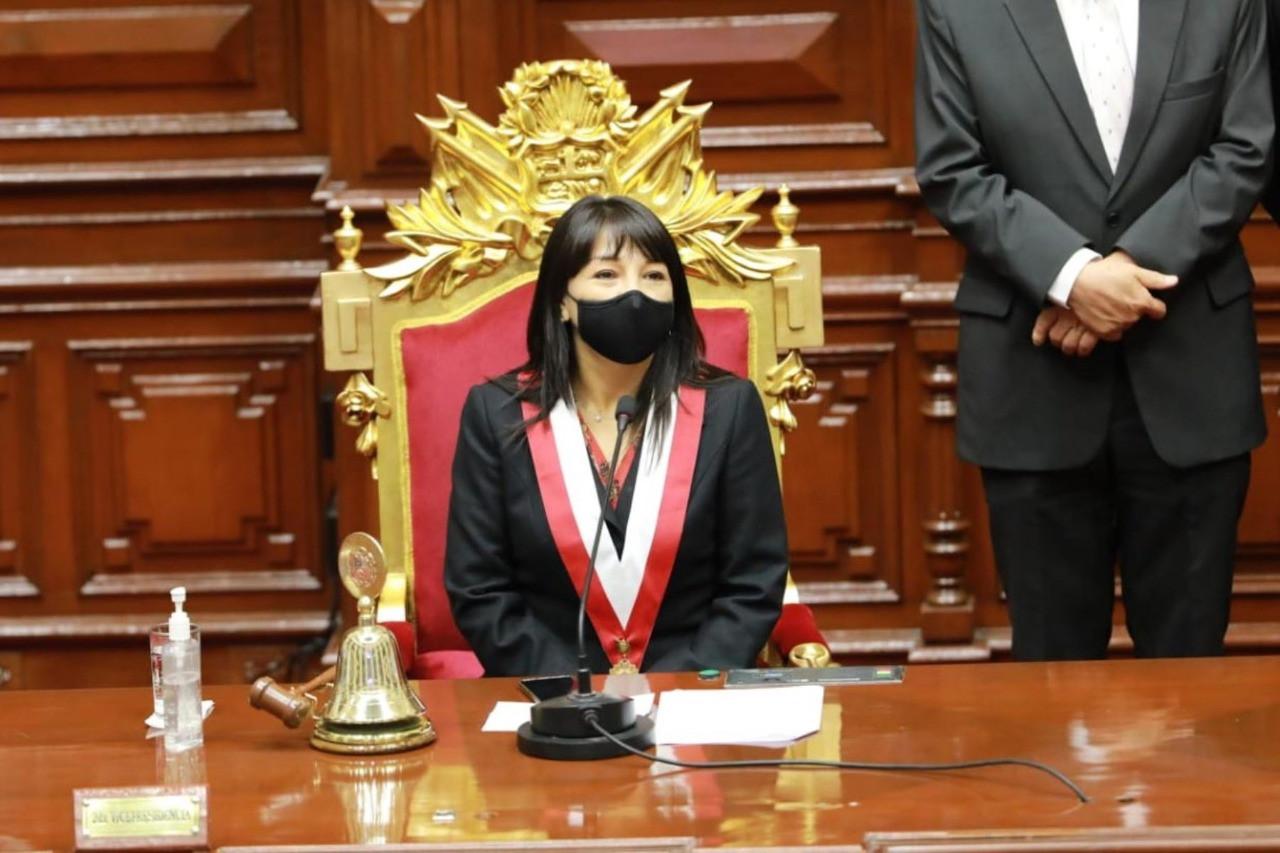 """<p><span style=""""color: rgb(48, 48, 48);"""">Voto de confianza: premier Mirtha Vásquez insistió en la implementación de una reforma tributaria</span></p>"""