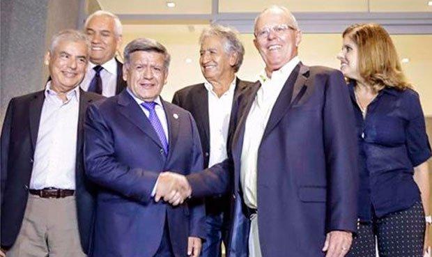 Apoyo de César Acuña sería limitado para votación de PPK en el norte