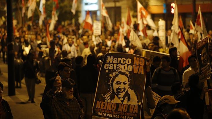 El efecto de la marcha 'No a Keiko'